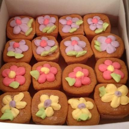 Hokkaido cup cake 25 pcs
