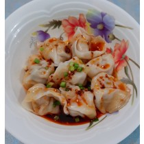 Red Oil dumpling 红油抄手  50 pcs