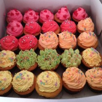Baby shower - cup cake 25 pcs