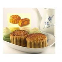 Low sugar white Lotus single yolk 低糖 单黄白莲蓉月饼 single pc 单个